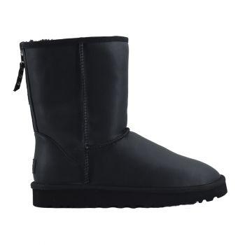 Мужские угги Ugg Men's One Zip Leather Black