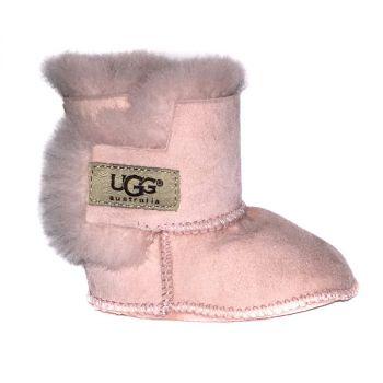 Детские пинетки Ugg Infants Erin Baby Pink