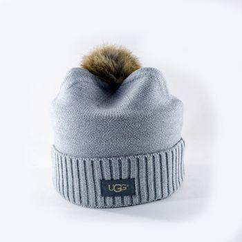 Женская шапка Ugg Women's Naomi Cashmere Hat Grey