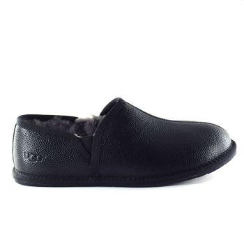 Мужские тапочки Ugg Men's SCUFF ROMEO II Leather Black